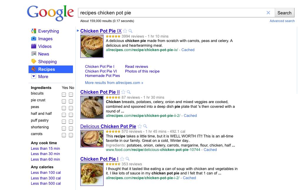 GoogleRecipeViewer