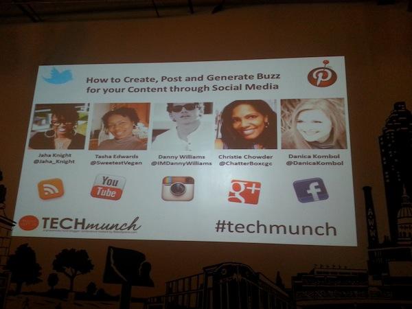 #techmunch social media