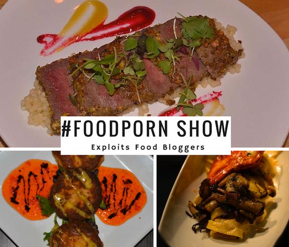 #foodporn show exploits food bloggers