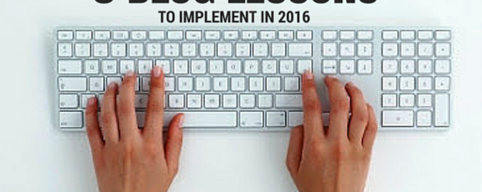 8 Lessons To Implement in 2016